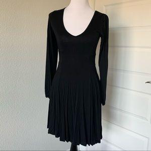 ASOS Long Sleeved Black Dress, sz 2 EUC